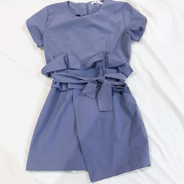 Blue Skort like Dress