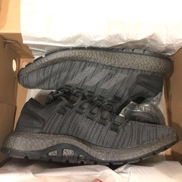 separation shoes cace4 ae3d4 BNIB Adidas PureBOOST All Terrain Triple Black, Men's ...