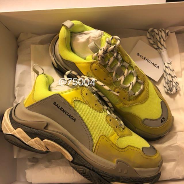 Balenciaga Neon Triple S Sneakers FmbMtAq