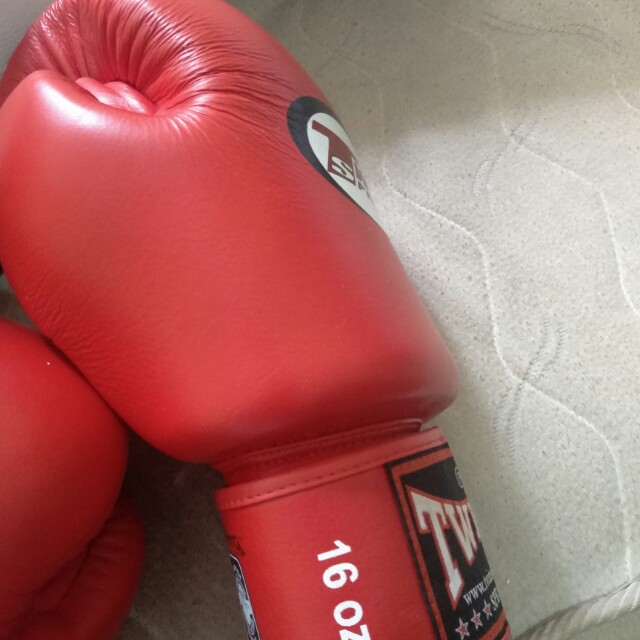Boxing Gloves and belly pad