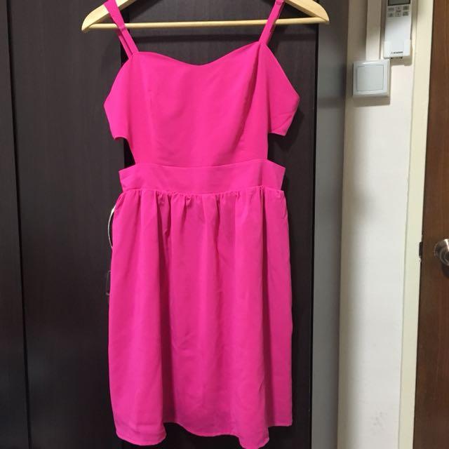 Brand new Forever 21 pink dress