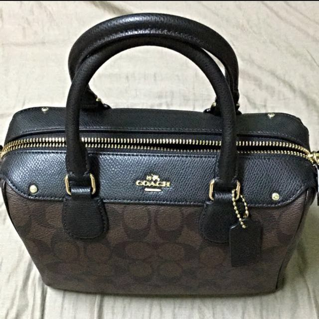 3ae033f36066e Brand New Mini Bennett Satchel In Signature Coach Bag (Coach F36702 ...