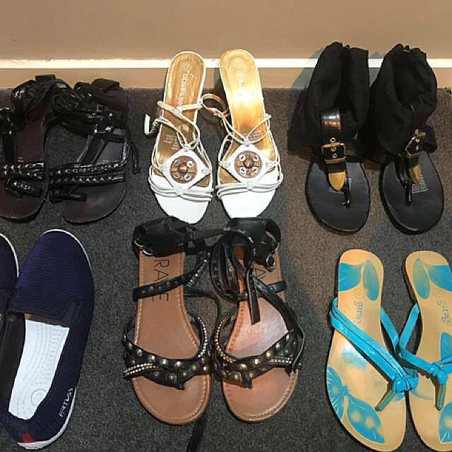 Bulk sandals/sneakers