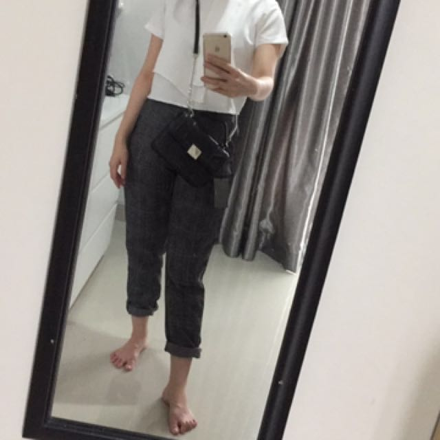 checked pants NEW