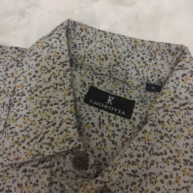 CHOROVIA floral shirt