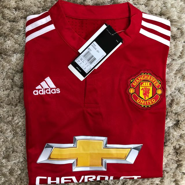 fdc3122ca5c CNY Special! BNIB Manchester United Home and Away Kit 2017 2018 ...