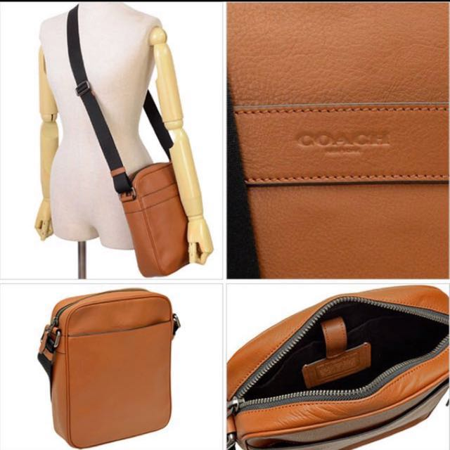 913477a0ae Coach Men in Smooth Leather F71723 (Saddle)
