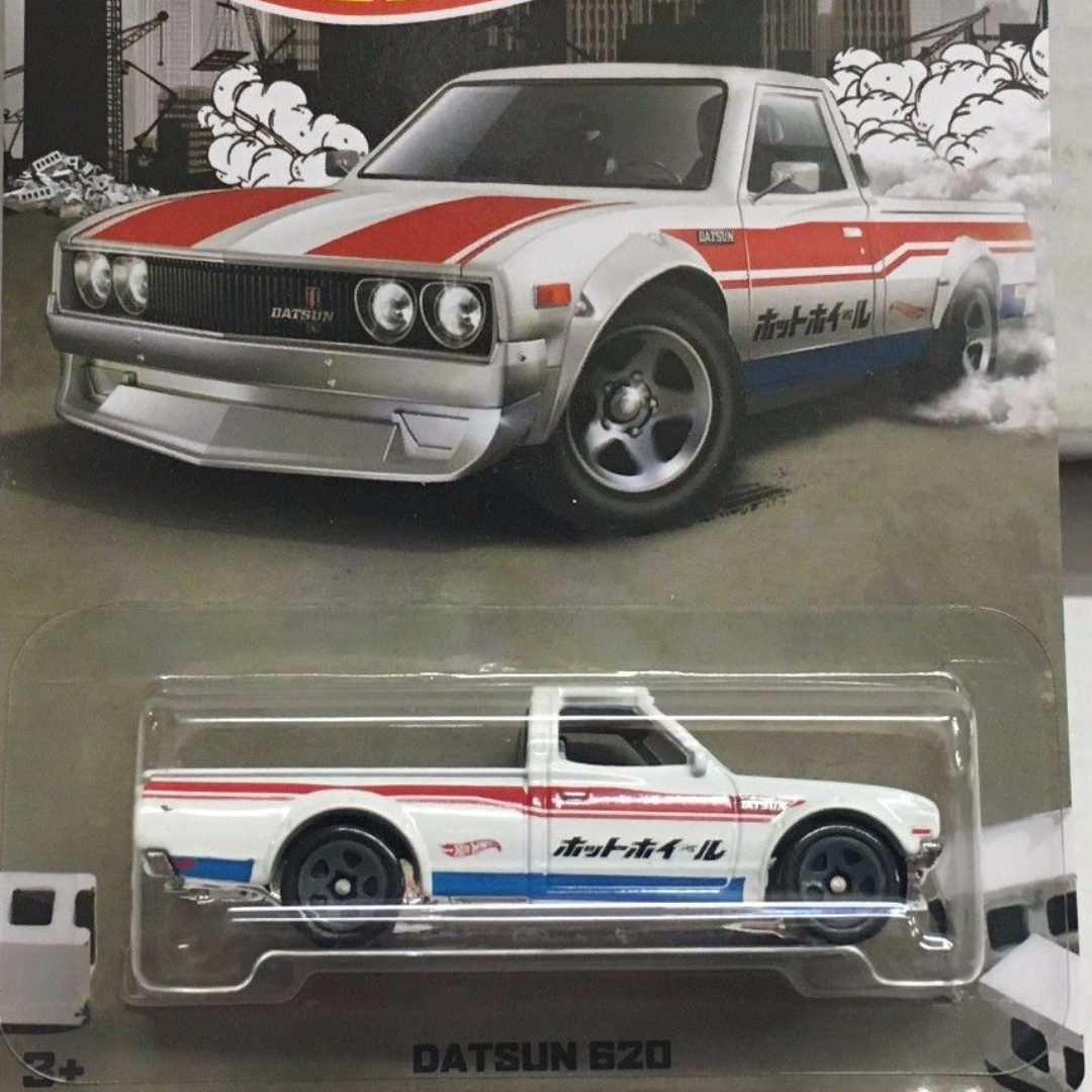 Datsun 620 Walmart White With Japanese Wordings Toys Games
