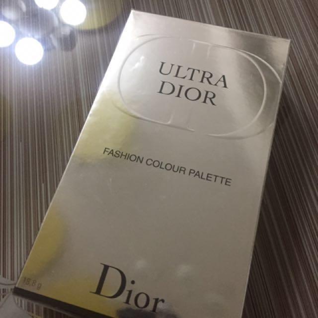 Dior fashion colour palette 眼影+腮紅盤