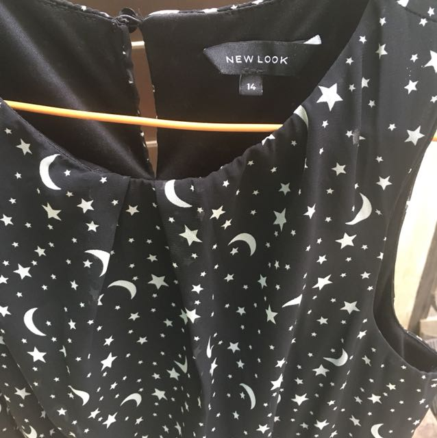 Dress New Look Black Curvy size 14