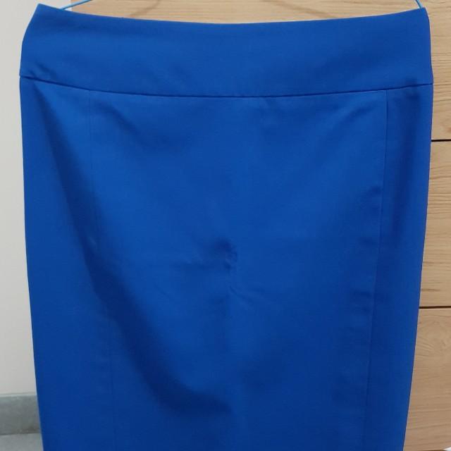 Electric Blue Skirt