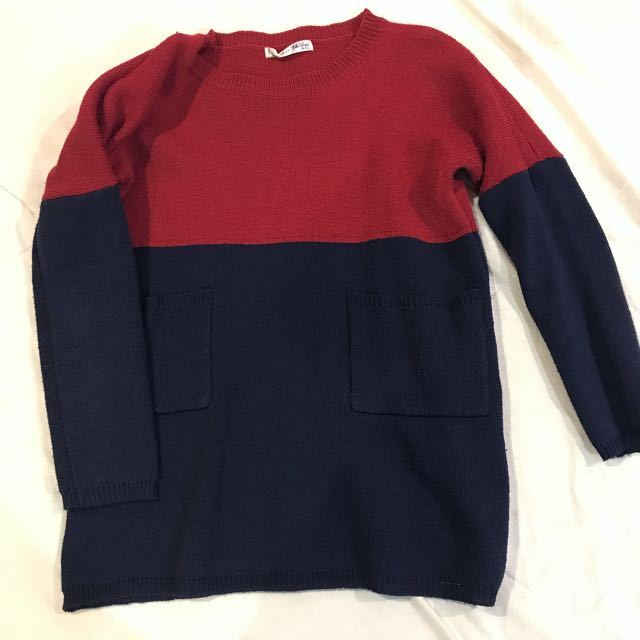 False color Sweater