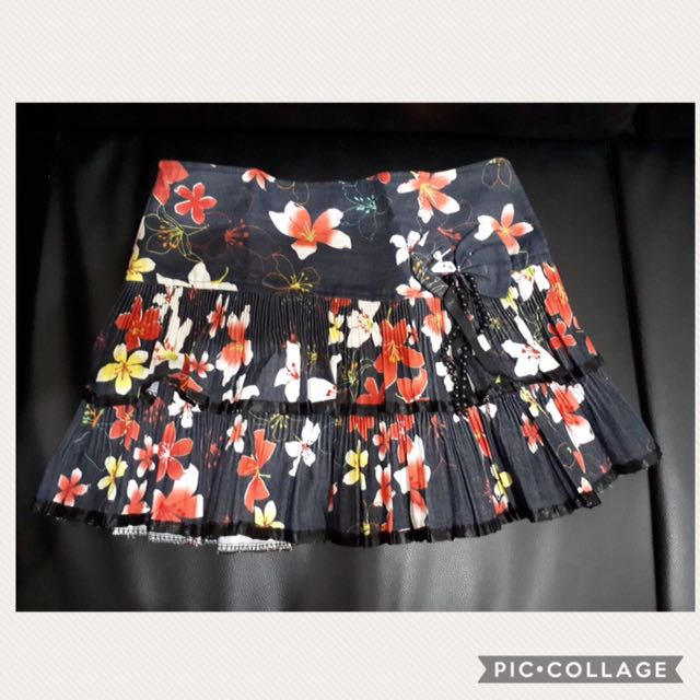 Floral skirts