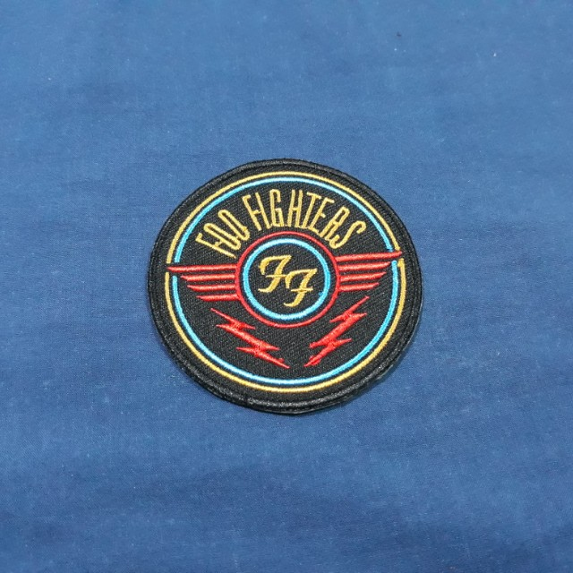 Foo Fighters Iron On Patch Design Craft Handmade Goods