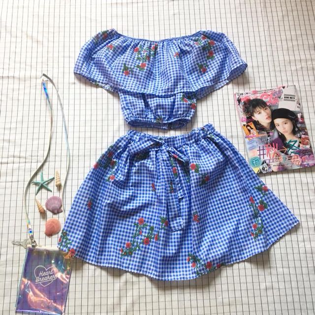 Gingham Coords