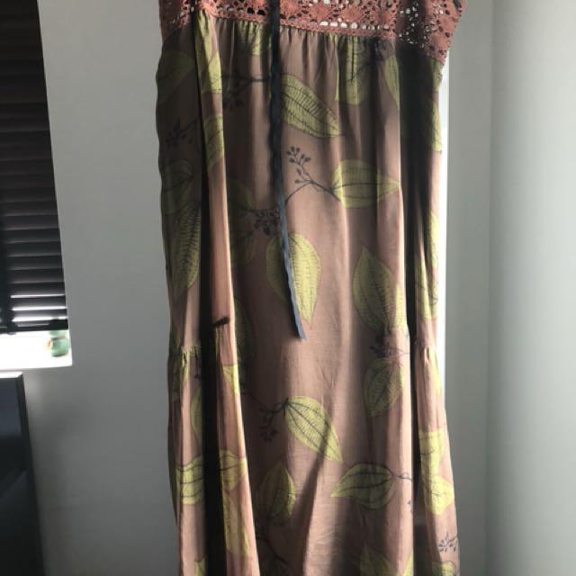 Gorgeous Designer Philosophy Silk Dress