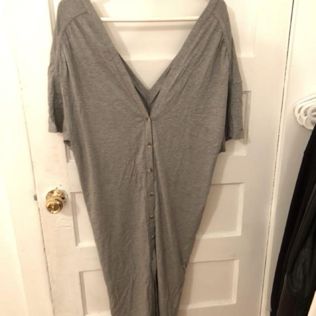 Grey casual dress