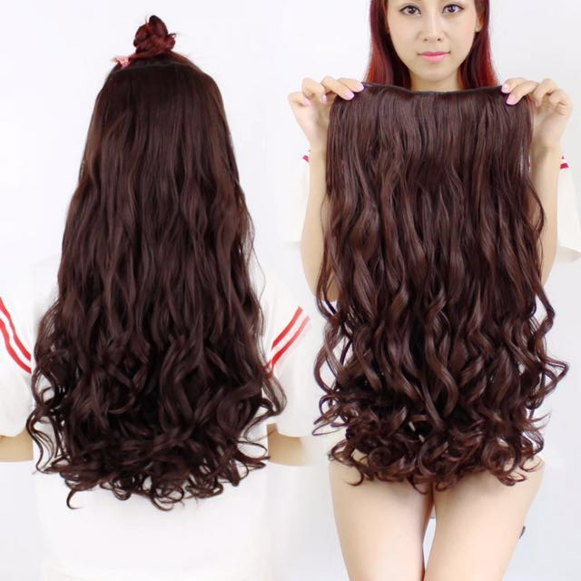Hair Extension Clip On Curly (PO)