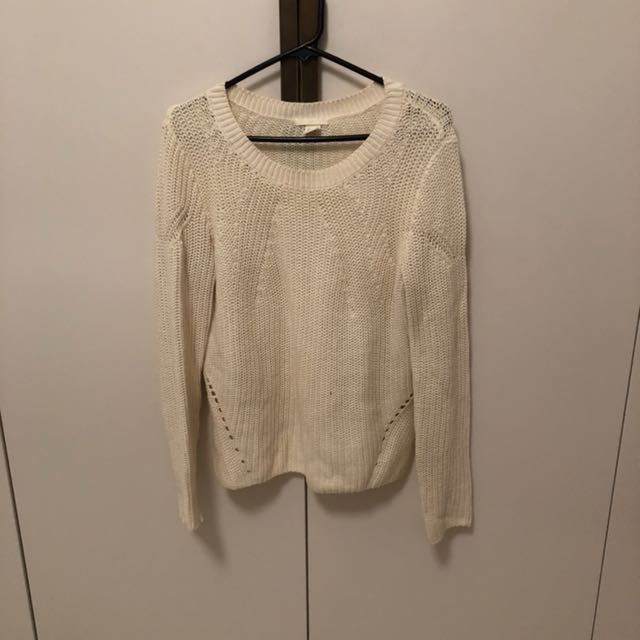 HnM off-white sweater