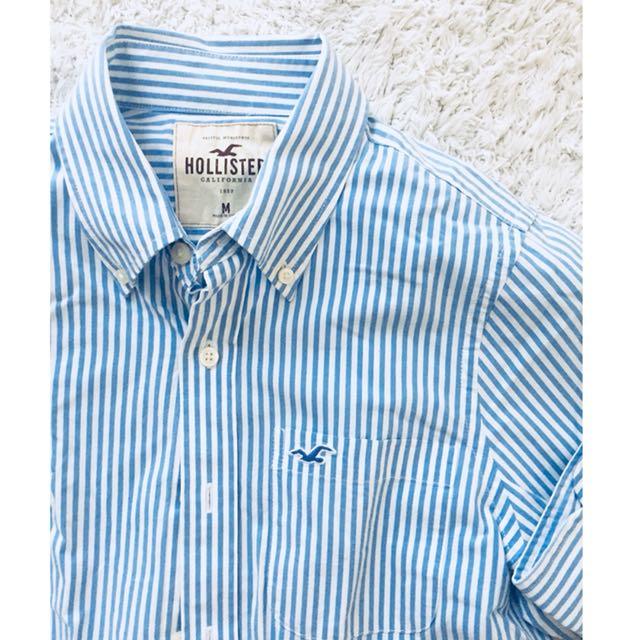 Hollister Men's Button-Down Shirt