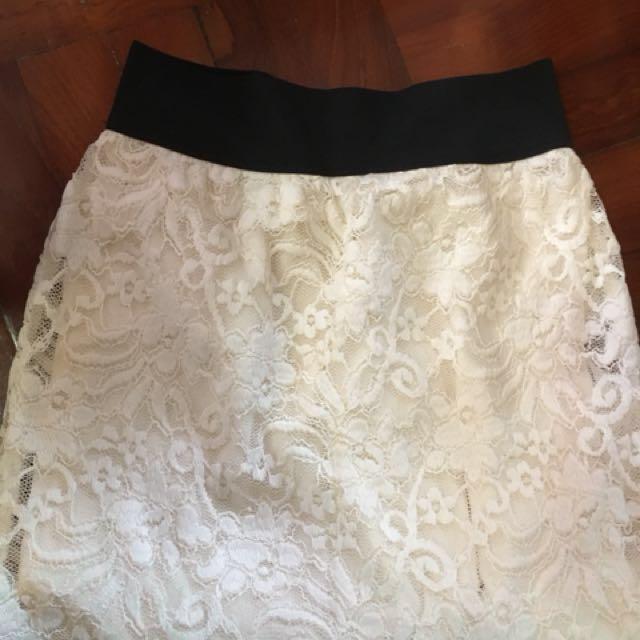 Hollister skirt lace