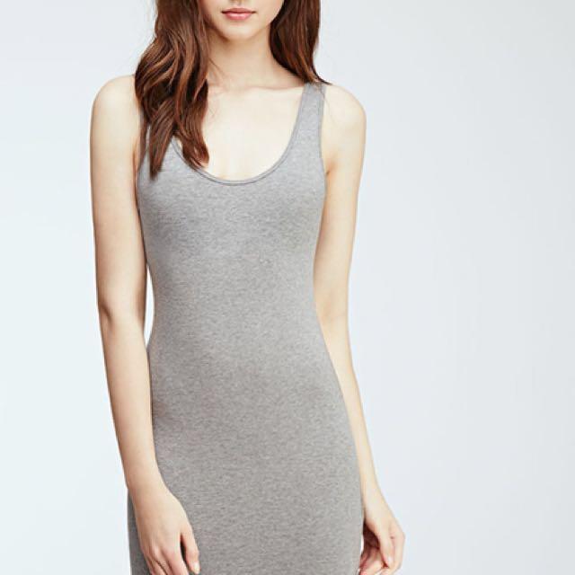 ISO : GREY Bodycon dress