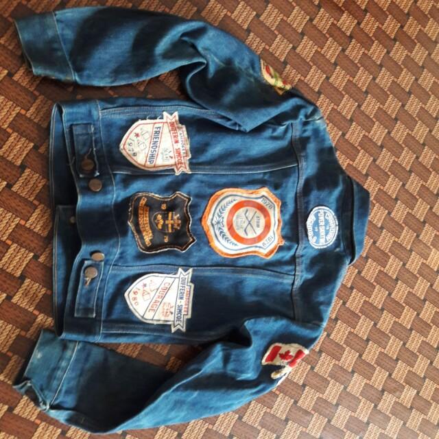 jaket jeans budak wrangler vintage 70 39 s made in usa barangan antik barangan antik di carousell. Black Bedroom Furniture Sets. Home Design Ideas