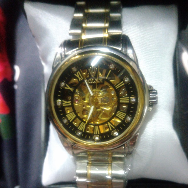 Jam Tangan Rolex Autometic Tanpa Batrai