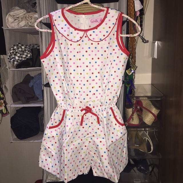 Jumpsuit polkadot sz 8th