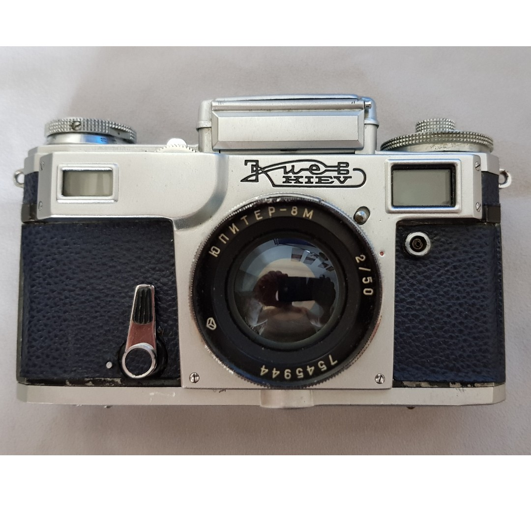 NEW PRICE *** Kiev-4 Russian Rangefinder Camera with fast