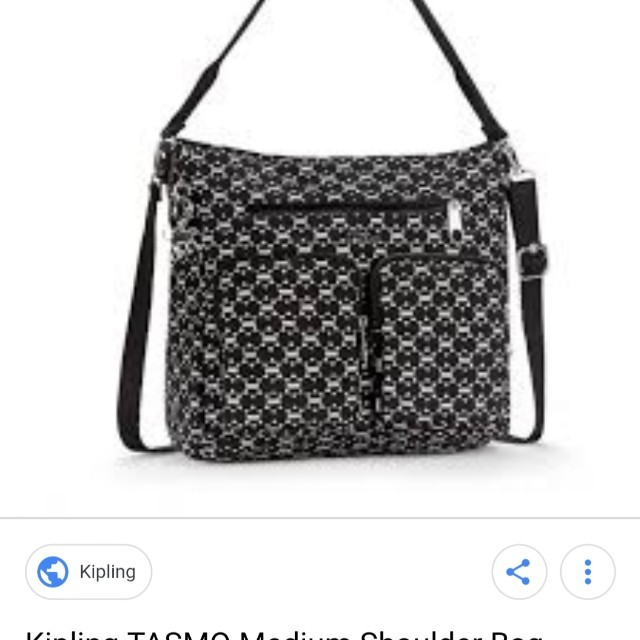 8d9a7e3000a Price Reduced Kipling Tasmo Soft Geo Medium Lightweight XBody Shoulder Bag,  Women's Fashion, Bags & Wallets on Carousell