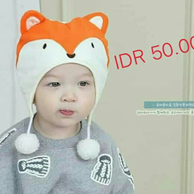 Korean Foxie Hat
