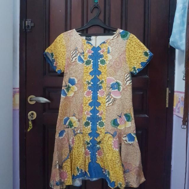 La Flaire Yellow Batik