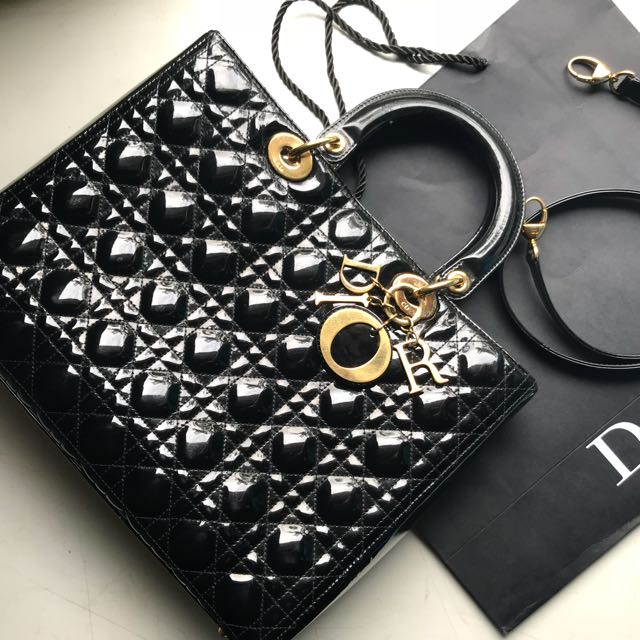 Lady Dior Large Patent 2010
