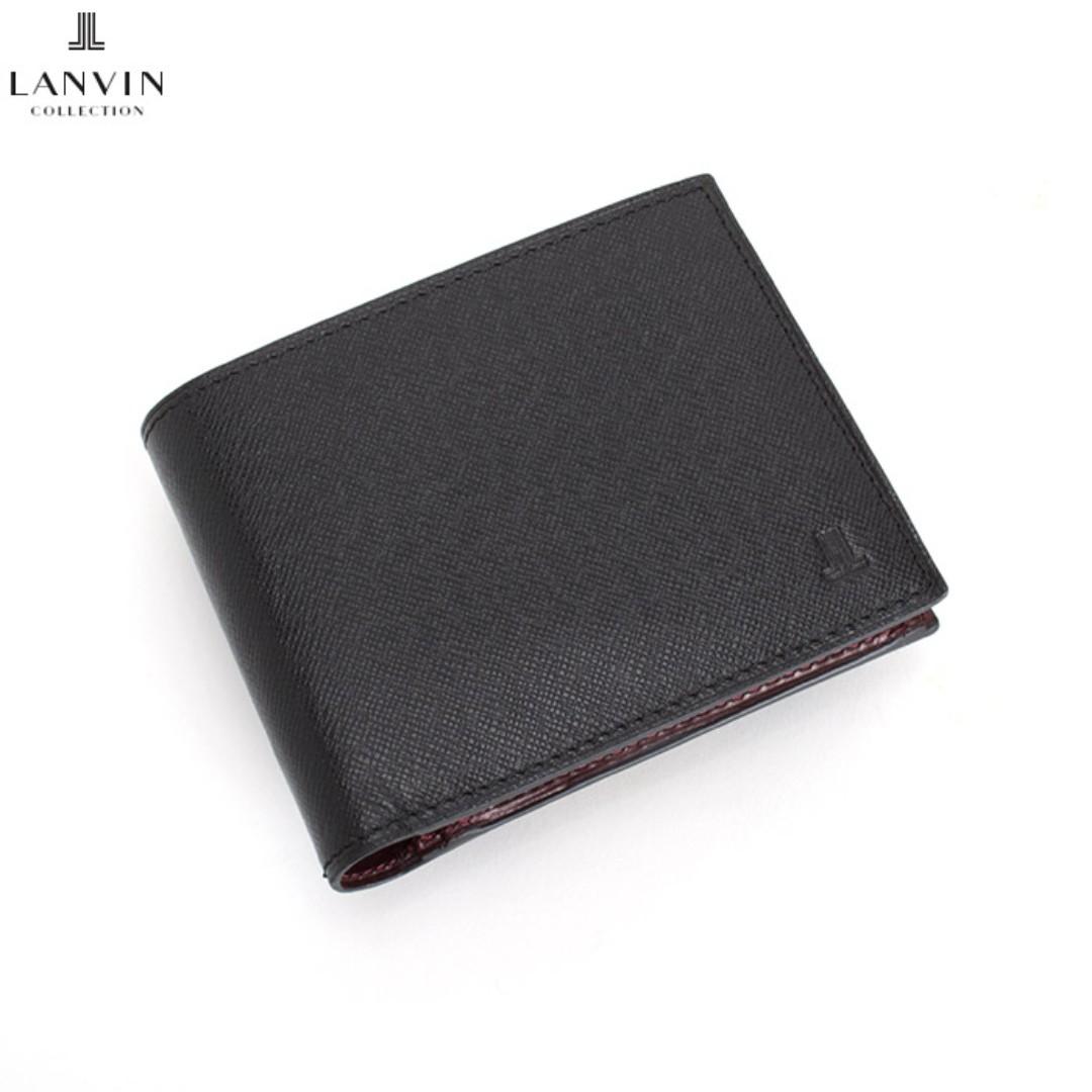 Lanvin collection 男女短夾 皮夾 黑 (porter可參考)