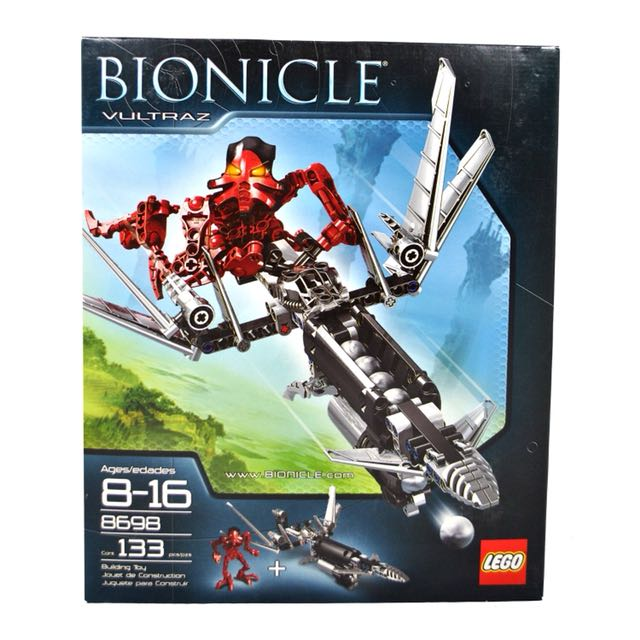 Lego Bionicle Vultraz 8698 Toys Games Bricks Figurines On