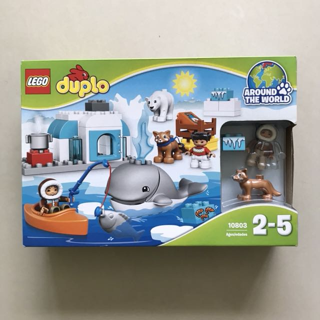 Lego Duplo Around The World Arctic 10803 Babies Kids Toys