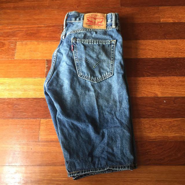 Levi's 505 Short Jeans