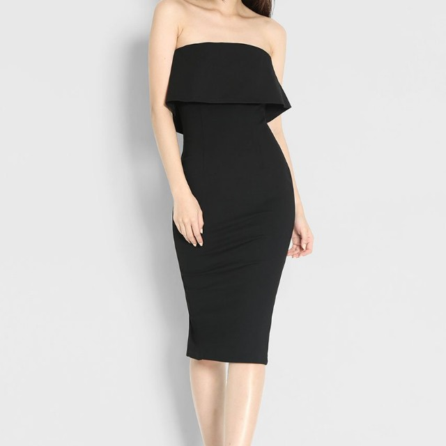 Looking For: Layered Bandeau Tube Dress