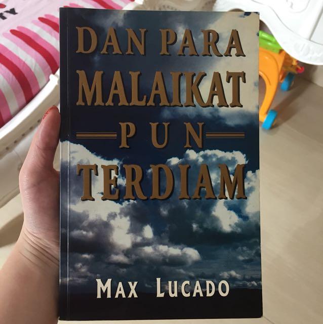 Malaikat pun terdiam MaxLucado