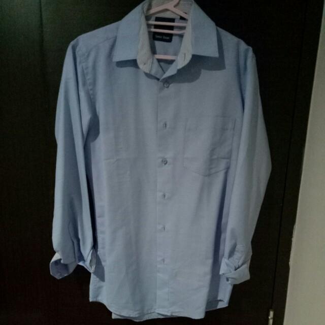 Man Blue shirt / kemeja biru pria
