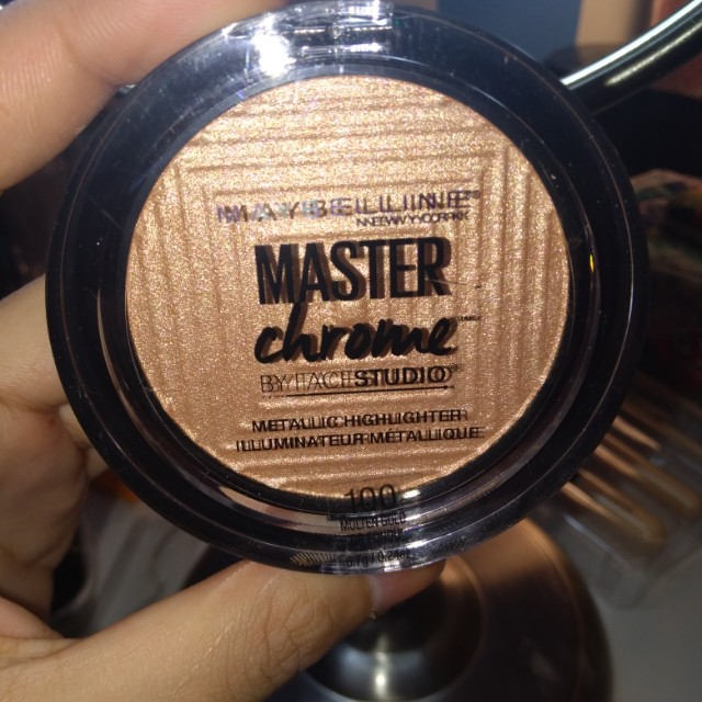 Maybelline Master Chrome Metallic Highlight