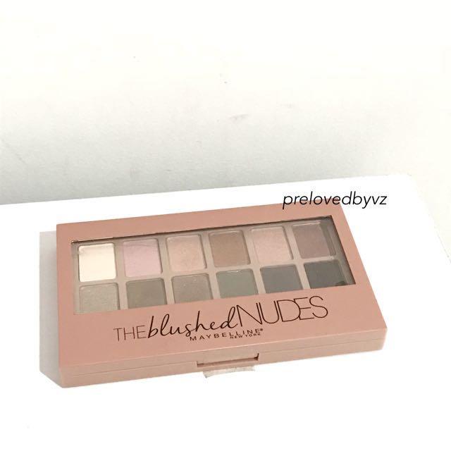 Maybelline The Blushed Nude Eyeshadow
