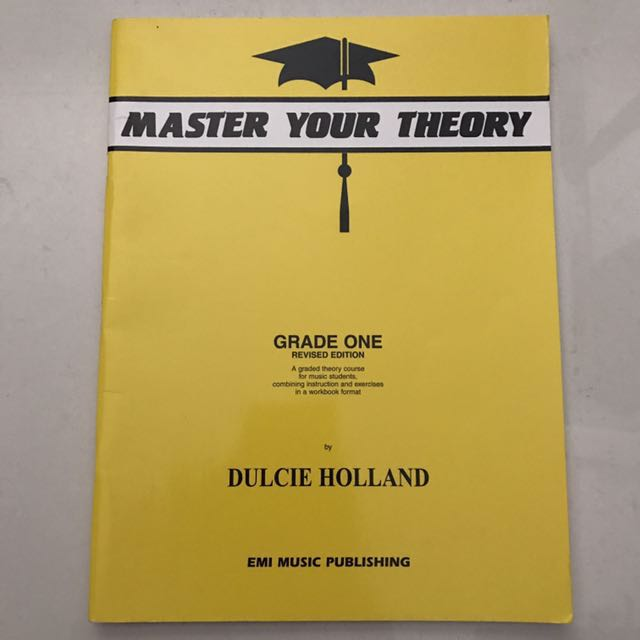 Music textbook Master your theory grade 1 revised edition