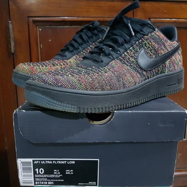 the latest fed2d fdab3 Nike Air Force 1 Ultra Flyknit Multicolor Black AF1 Not Jordan Air ...