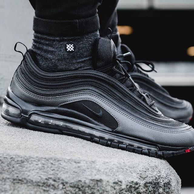 "online store 6ca2f 69f14 Nike Air Max 97 ""Metallic Hematite"" - Eternal Future Pack (Black), Men's  Fashion, Footwear on Carousell"