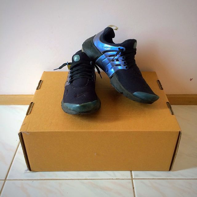 Nike Presto unisex space blue and black