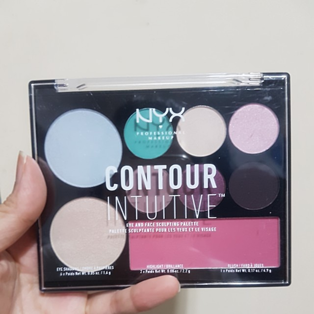 3b2708b6cc2e NYX Contour Intuitive Eye and Face Sculpting Palette in Amplify
