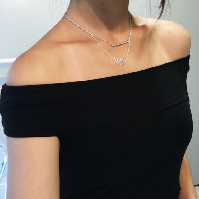 Off the shoulder top