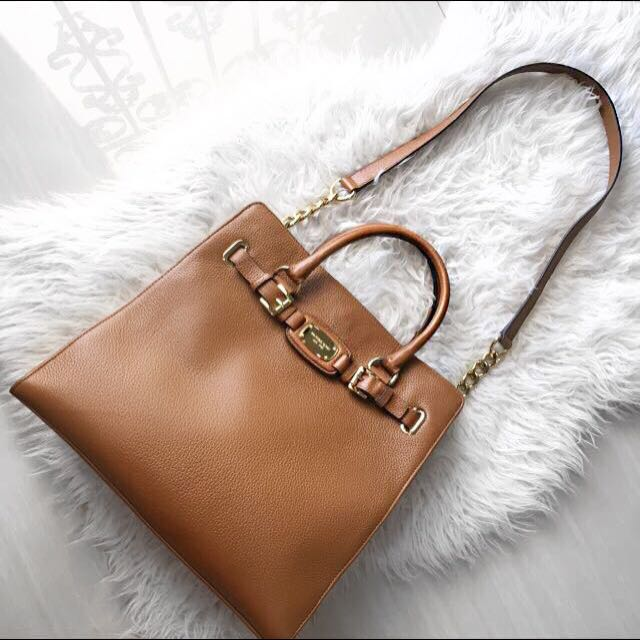 Original Michael Kors Hamilton Large Tote Leather Bag